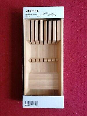 Schubladen Organizer Küche Messereinsatz Bambus 20 cm x 50 ...