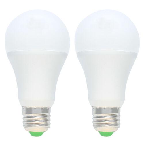 2er E27 5W LED Dämmerungssensor Glühbirne Sensor Birne Nachtlicht Kaltweiß 6000K
