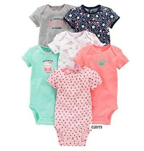 Simple Joys by Carters Unisex Baby 5-pack Short Sleeve Side Snap Bodysuit infant-and-toddler-bodysuits