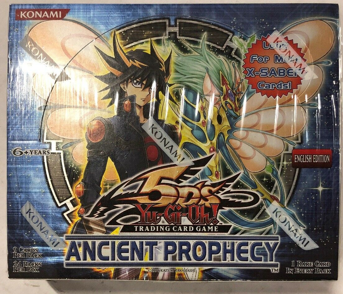 Yugioh Ancient Prophecy Unlimited Edition 24-Ct Booster Box Factory Sealed