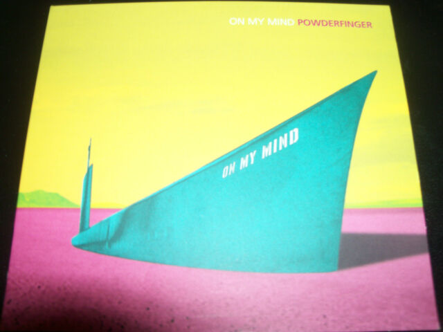 Powderfinger On My Mind Rare Aust 4 Track CD Single (Includes Demo Tracks)