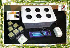 Hydroponic 6 Plant Garden Complete System Includes Nutrients and pH test kit !!