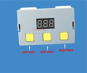 DC 12V-24V 5A Motor PWM Speed Controller Speed Control Switch LED Dimmer