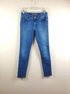 DL1961 womens size 27 Amanda dark wash skinny stretch mid rise denim jeans