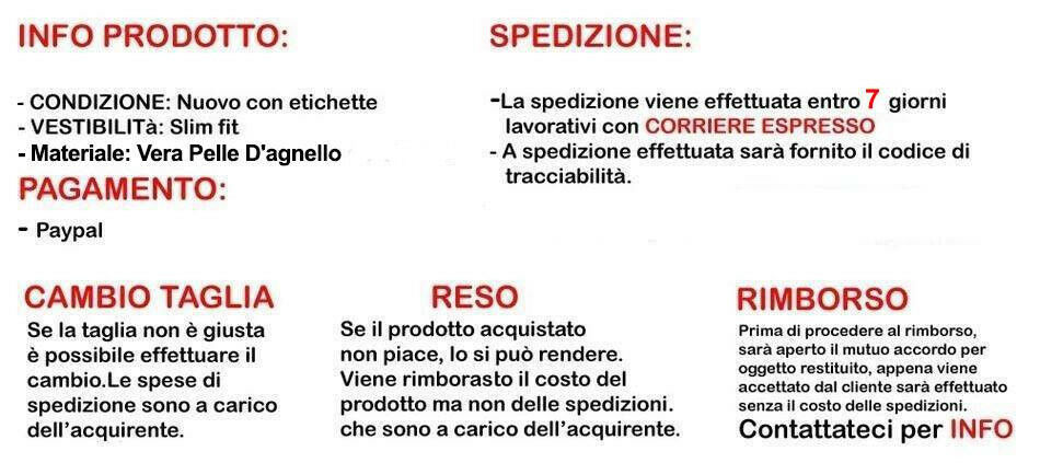 Giacca Giacca Giacca Giubbotto in di Vera PELLE  Herren Slim Fit Ns Produzione Sped. Gratis R111 36b3de