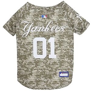 New-York-Yankees-MLB-Officially-Licensed-Dog-Pet-Camo-Jersey-Sizes-XS-XL
