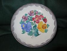 "VINTAGE GMUNDNER KERAMIK Handpainted Decorative Dish 6.75"""