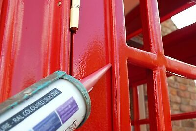 /'POST OFFICE RED/' COLOURED SILICONE K6 GPO RED TELEPHONE BOX PHONE BOOTH
