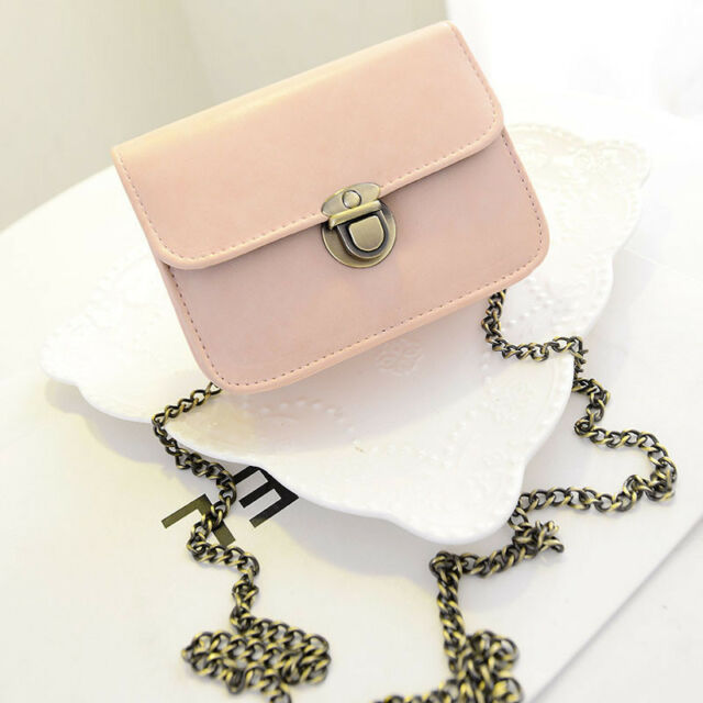 Ladies Leather Shoulder Bags Adjustable Mini Cross Body Bags Clutch Handbags