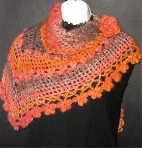 Vintage style Josef Glacier Knitting Shawl Wrap Up ORIGINAL Knitting Pattern
