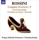 Rossini: Complete Overtures, Vol. 3 - La Cenerentola; L'Italiana in Algeri; Tancredi (CD, Nov-2013, Naxos (Distributor))