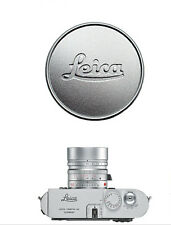 Metal Silver Lens Cap for Leica L39 E39 39mm Summicron Summaron Tinra 35/2 M50/2