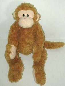 "Ty Beanie Buddy Fumbles the Monkey 15"" Plush Golden Brown Stuffed Animal 2004"