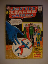 Justice League Of America #14 G Menace Of The Atom Bomb