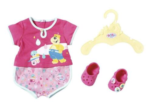 Zapf Creation 827437 - BABY born® Badezimmer - Bade Outfit Pyjamas & Clogs, 43cm