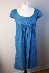 Orla-Kiely-2-Onesiez-Twosies-Blue-Polka-Dot-Cotton-Poplin-Cap-Sleeve-Dress