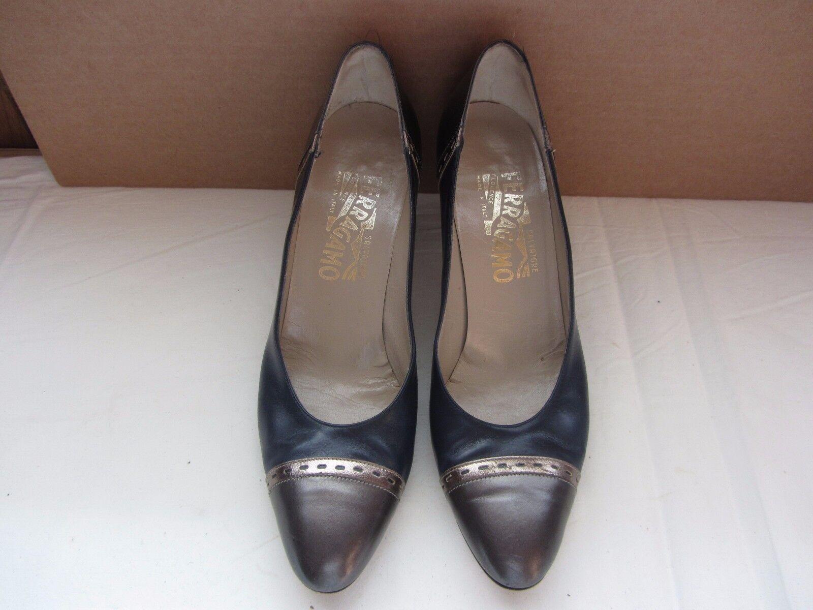 Women's Salvatore Ferragamo  Classic Pumps Shoes Size 8 AA