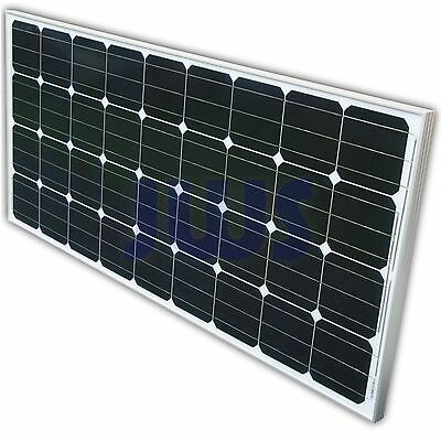Solarpanel 160Watt 160W Solarmodul Solarzelle 12 Volt 12V Monokristallin Solar