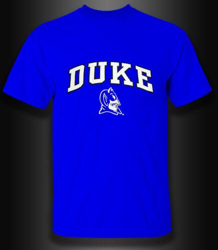 New Duke University Devil Logo Gildan T Shirt