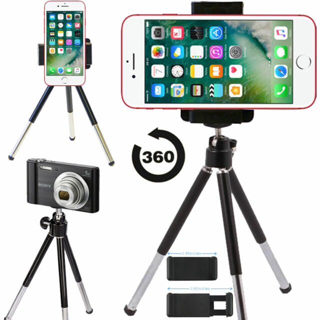 3cebd105556f Mini Tripod Stand Holder Mount for Camera Mobile Apple iPhone iPod Nokia