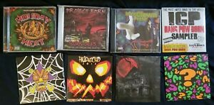 Insane-Clown-Posse-SEALED-CD-Lot-hallowicked-twiztid-psychopathic-records
