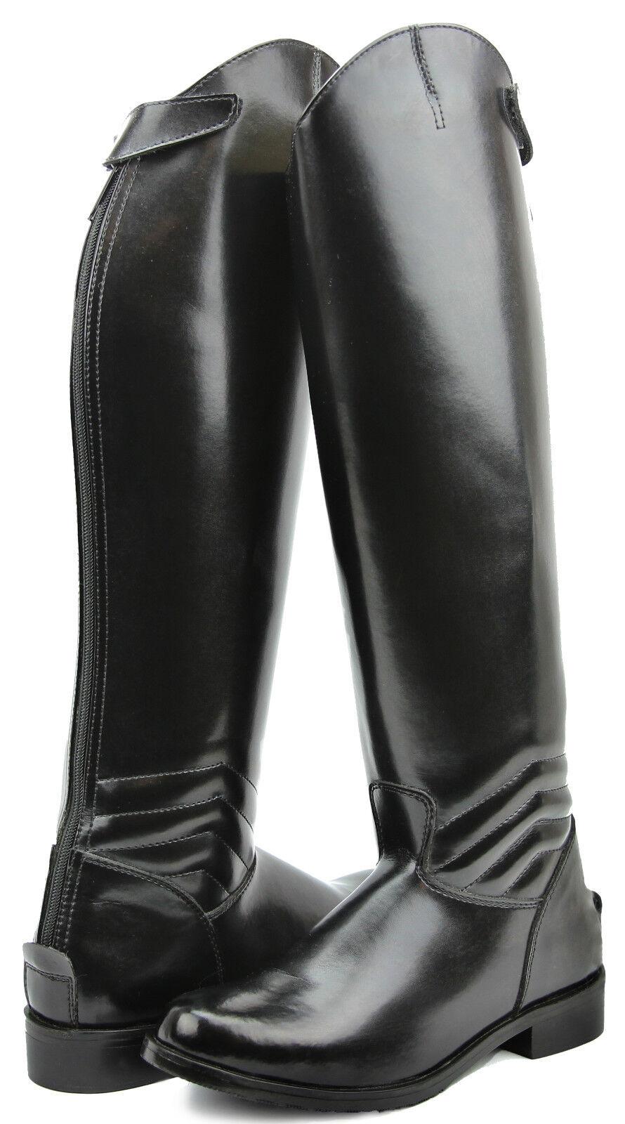 Hispar Ladies Elegant Dress Dressage Boots With Zipper  Riding English Equestrian  save up to 80%