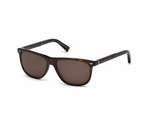 ba0bafed73b Image is loading Ermenegildo-Zegna-Sunglasses-EZ0009-52J-dark-havana-roviex-