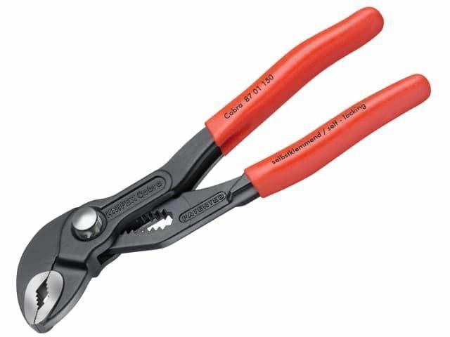 Knipex Pince pour pompe à eau Cobra®, poignée en PVC, capacité de 150 mm à 30 mm