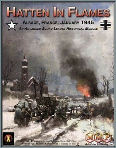 Advanced Squad Leader ASL Hatten in Flames, Historical Module, Wargame, New
