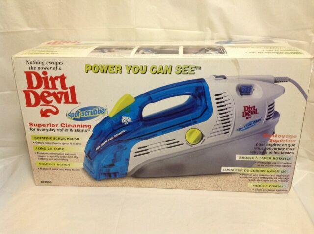New Dirt Devil Spot Scrubber Portable Handheld Carpet Cleaner Upholstery -SE2800