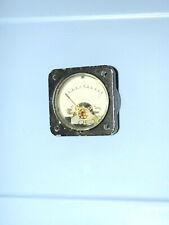 Vintage Weston Panel Meter Gauge Model 1511 0 10 Used