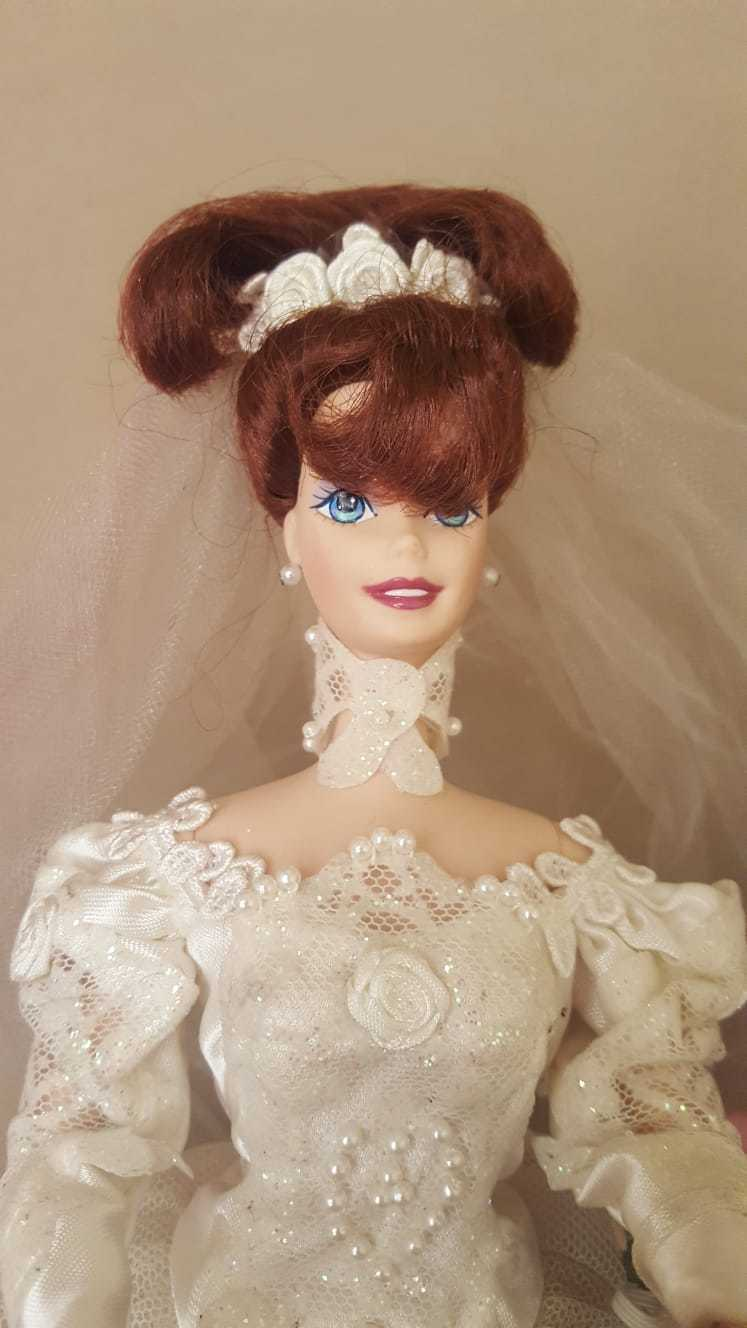 Barbiein porcellana - Romantic Rosa bride - usato