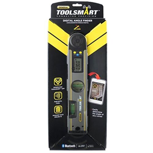 Level General Tools TS02 ToolSmart Bluetooth Connected Digital Angle Finder