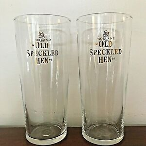 Pair Of 2 Belhaven Best The Cream Of Scottish Beer Pint Glasses Ale Bitter M16