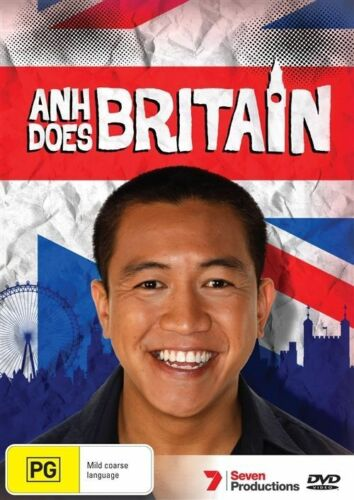 1 of 1 - Anh Does Britain (DVD, Comedy) Anh Do - New/Sealed!