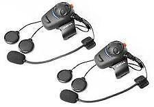 Sena SMH5 Kit de doble Bluetooth Headset & Intercomunicador Moto & Scooter (Nuevo)