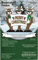 Reindeer Cheer Christmas Yard Art Woodworking Plans By Sherwood Creations