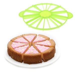 Pie-Marker-Cutter-Cake-Divider-10-12-Piece-Slicer-Birthday-Party-Accessor-FZ