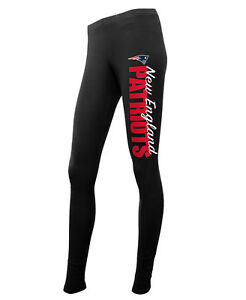 NEW-ENGLAND-PATRIOTS-WOMEN-039-S-PANTS-LEGGINGS-LARGE-NFL-FOOTBALL-TEAM-FAN-GIFT