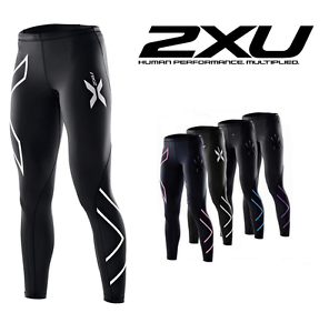 2XU-Women-Compression-Tights-Running-Fitness-Pants-Womens-Sports-Gym-Yoga-Tights