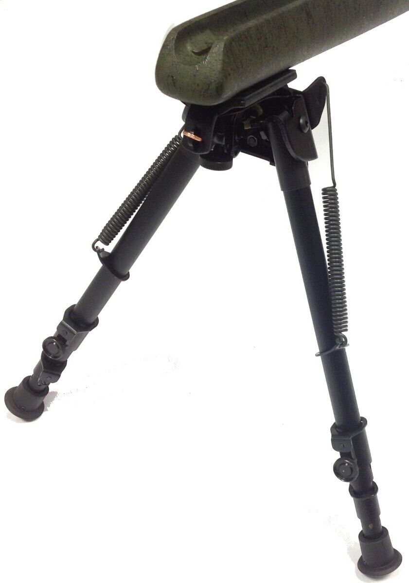 Genuine Harris S-25C Giratorio Bípode Rifle 13.5-27  sentado resto-Reino Unido Vendedor