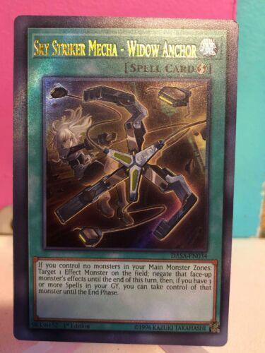 YuGiOh Sky Striker Mecha Widow Anchor Custom Card Orica Proxy