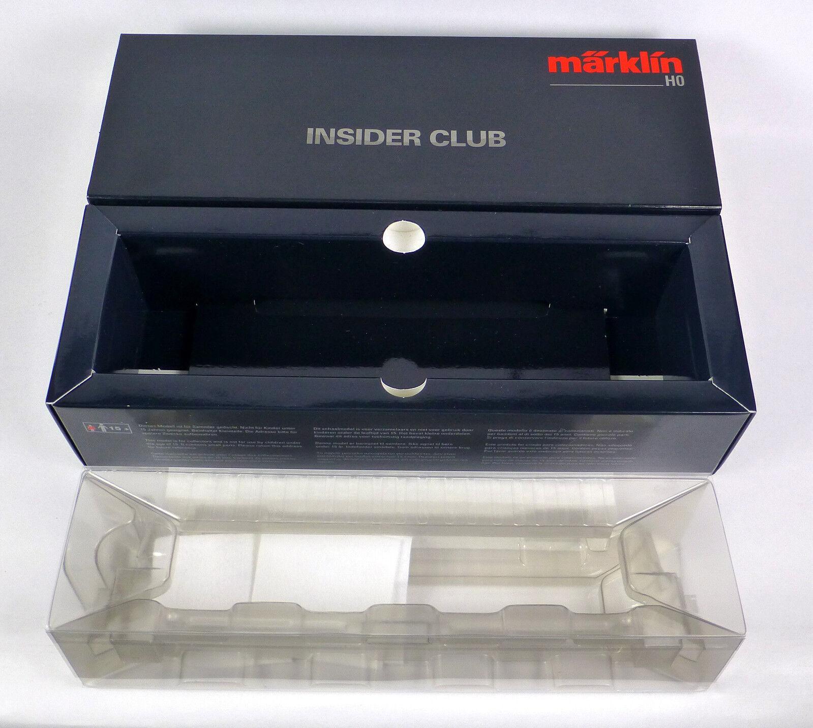 cartone vuoto 39170 E-Lok BR 103 243-2 tè mfx Digital Insider Club OVP h0