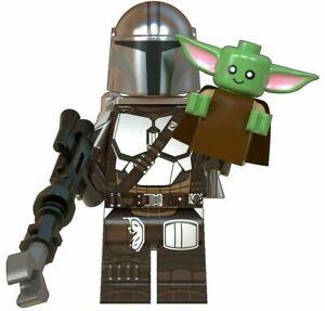 ORIGINAL-STAR-WARS-The-Mandalorian-BABY-YODA-CUSTOM-lego-Minifigure