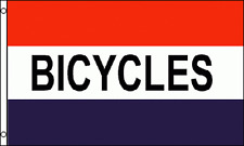 BICYCLES Flag 3x5 ft Business Sign Mountain Beach Bike Rental Sale Shop Buy Sell