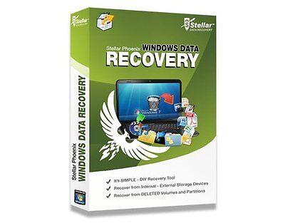 Data Recovery Lost Files Stellar Phoenix Windows Data Recovery Professional v6