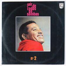 JAIR RODRIGUEZ: De Todos Os Sambas BRAZIL Philips Bosas Nova No 2 LP VG+
