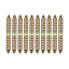 10Pcs-M8-x-60mm-Double-Head-Ended-Wood-to-Wood-Screws-Self-Tapping-Thread-Bolts thumbnail 10