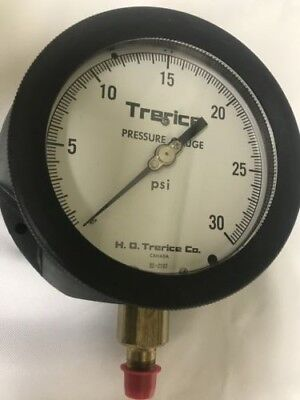 "Trerice 450B D09011 6/"" 0-30PSI Pressure Gauge 1//4/"" Fitting Free Shipping NEW"