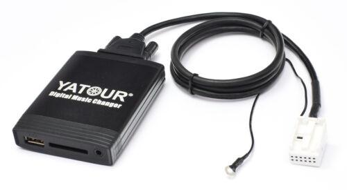 USB Adapter AUDI A3 8P A4 B7 TT 8J CD-Wechsler SD-Interface 12pin